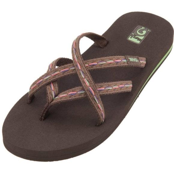 c09cd026d2399 Teva Olowahu flip flops